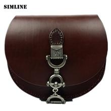 Hohe Qualität Marke Vintage Retro 100% Echtem Leder Rindsleder Frauen Kleine Umhängetasche Umhängetasche Taschen Für Damen