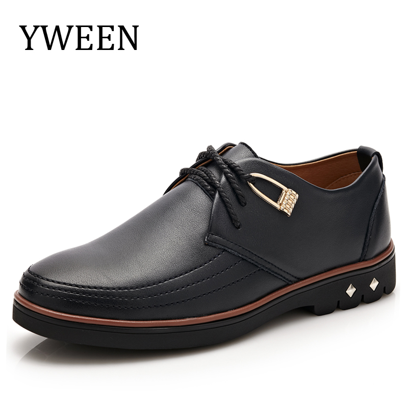 YWEEN 2017 New Casual Oxford Shoes Classic Men Formal Shoes For Men High Quality Men Dress
