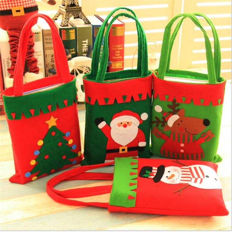 Christmas decoration supplies children's candy bags snack bags