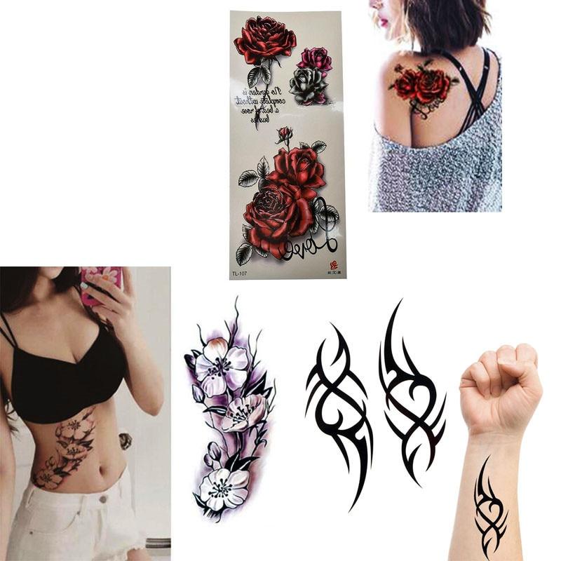 1 Piece Popular Tattoo Waterproof Temporary Sticker Long Lasting 3d Arm Body Art Tattoos Free Shipping Aliexpress Com Imall Com