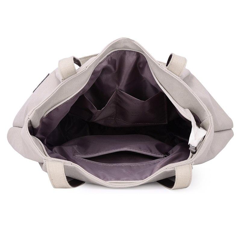 Fashion Canvas Tote Bag Women Handbag Shoulder Bags Messenger Bag Casual Hobos Bolsa Female Feminina High Quality Large Capacity