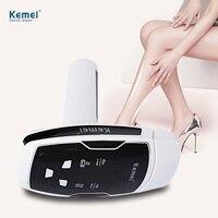 Kemei Epilator Female Photon Laser Facial Hair Removal Depilatory Shaver Razor Device Face Skin Care Tool