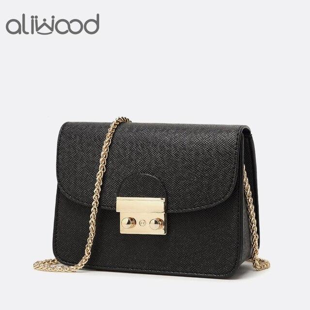 70828ebbfe 2017 New Chain Women s Handbags Messenger Bags Brand Famous Designer Mini  Shoulder Bags Ladies Cross body