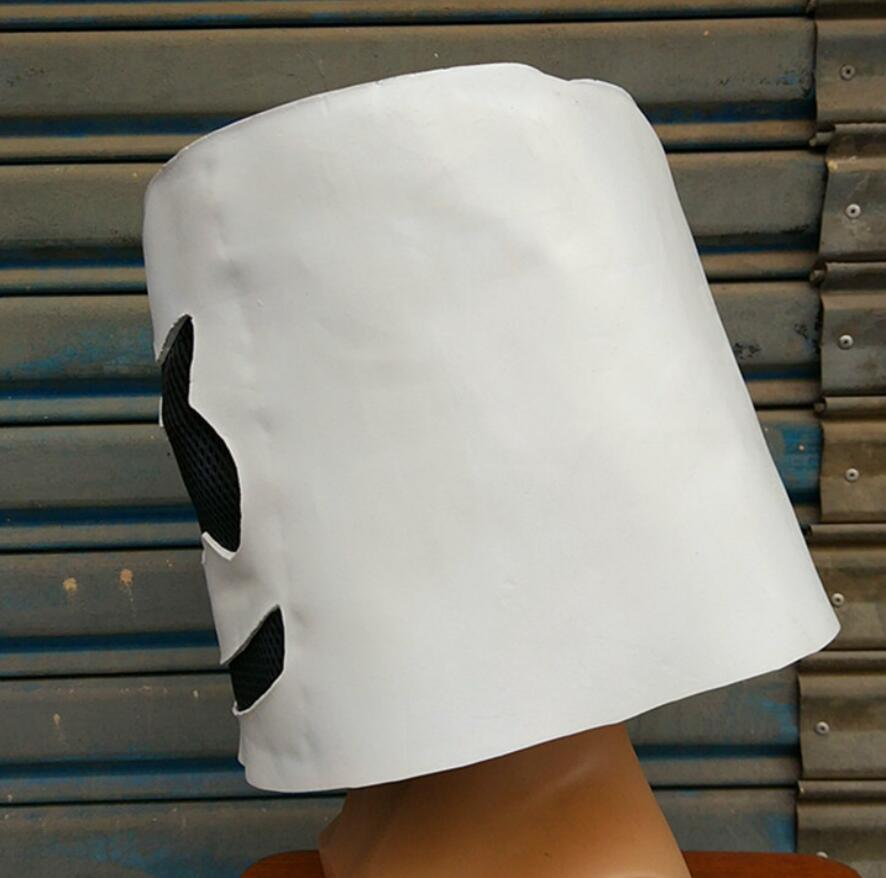 DJ Marshmello Masque Mask Full Helmets Cosplay Prop Latex Mask Halloween Party in Boys Costume Accessories from Novelty Special Use