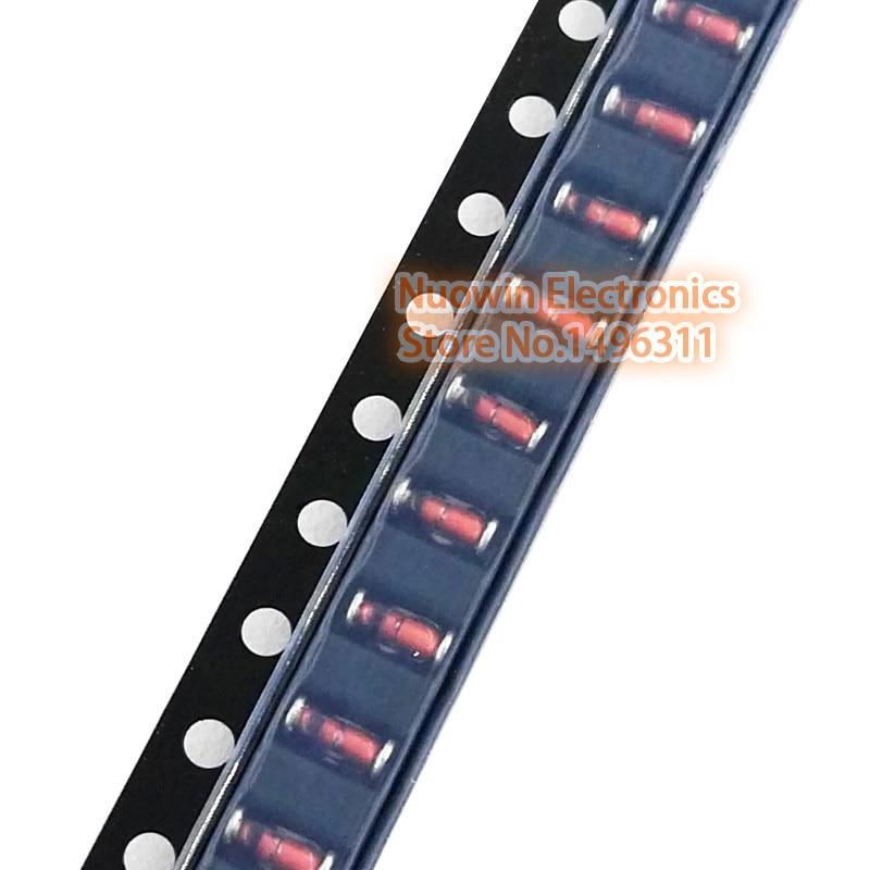100 Stücke 6,2V ZMM6V2 1//2W 0,5W SOD-80 LL34 SMD Zener Dioden