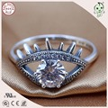 Top Quality Cool Silver Jewelry Famous European Brand 925 Pure Silver Evil Eye Design Ring