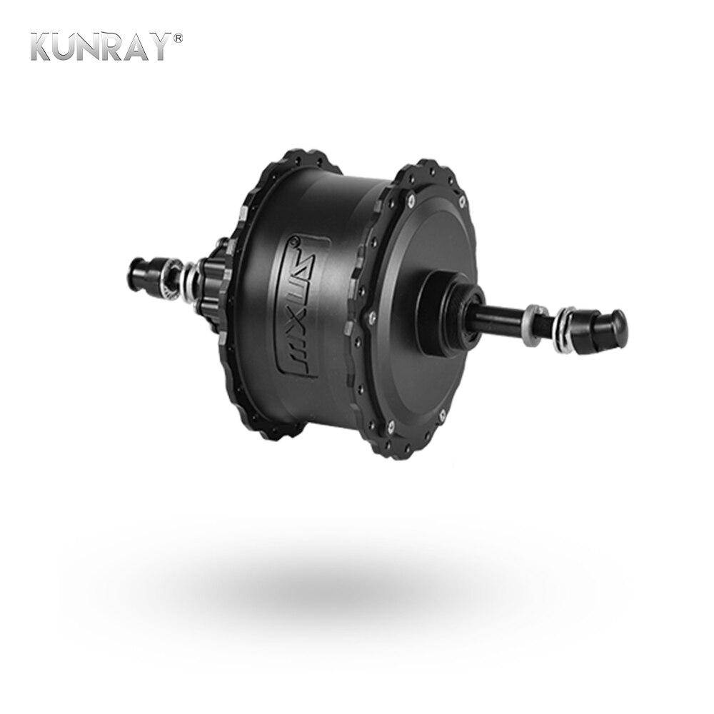 MXUS XF15FAT 48V 350W 750W Electric Fatbike Hub Motor Rear Wheel Drive Snow Bike Brushless Gear
