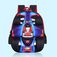 2016 New 3D Car-styling School Bags For Boys Waterproof Children Backpacks Child Book bag Kids Satchel Knapsack Mochila escolar