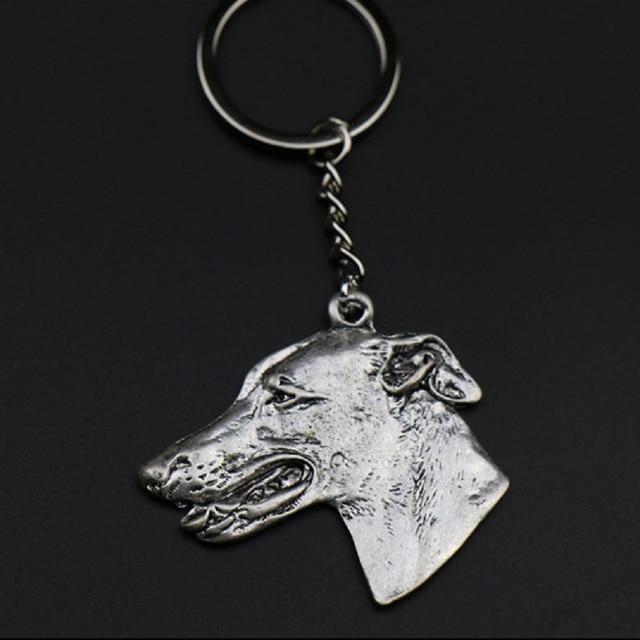 Купить новая мода грейхаунд собака брелок ювелирные изделия популярные картинки