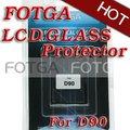 Pantalla LCD del vidrio óptico Protector para Nikon D90 cámara pantalla para Nikon