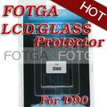 Tela LCD de vidro óptico protetor de tela para Nikon D90 câmera para Nikon