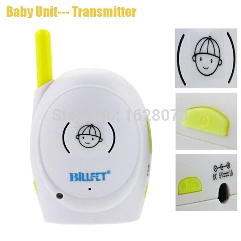 Talkie-walkie bébés 2.4 GHz Audio sans fil bébé moniteur Radio bébé téléphone bébé alarme enfants Radionana Intercoms Radio nounou infirmière - 3