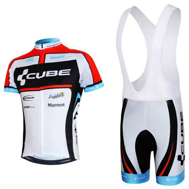 2018 NEW CUBE Team bike wear set Summer short sleeve cycling jerseys Ropa Ciclismo bicycle clothing high quality pro team rock racing bike cycling clothing men summer ropa ciclismo breathable short sleeve cycling jerseys sets