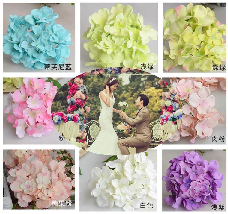 Wedding Artificial Hydrangea Silk Flower Table Centerpieces Decorative  Flower Wedding Arch Garland Decoration