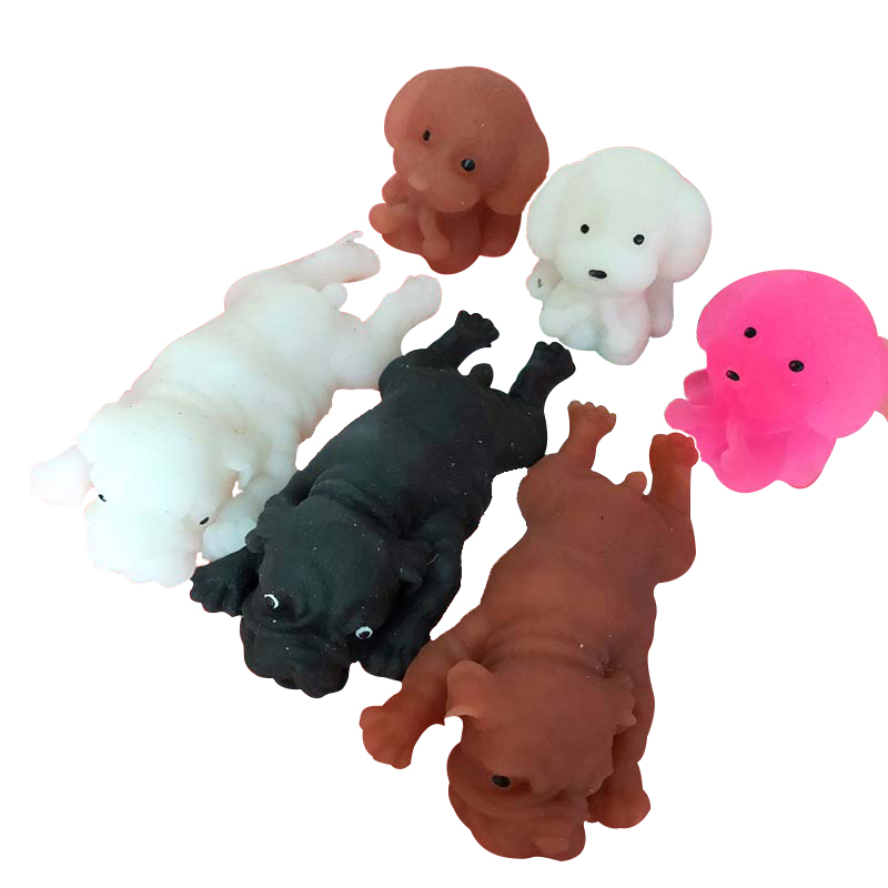 Cute Funny Mochi Squishy Toys Antistress Shar Pei Dog Puppy For Children,Kids,Baby,Toddler,Adult Venting Educational Toy Gift