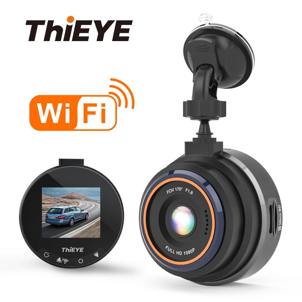 ThiEYE Safeel Zero + Wi-fi Car DVR Traço Camera Real HD 1080 P 170 Wide Angle Com G-Sensor modo de estacionamento da câmera do carro Gravador