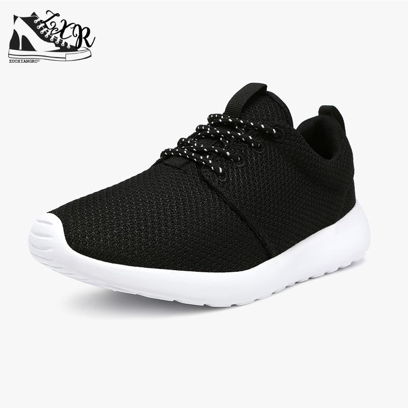New Black/white Men Casual Shoes Breathable Mesh Lightweight Flats Unisex Designer Trainers Male Shoes Adult Plus Size 45