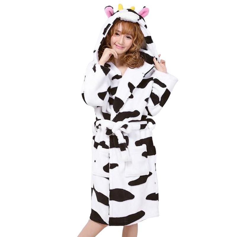 New-arrival-autumn-and-winter-women-s-cartoon-fleece-soft-bathrobe-with-hood-lovely-juniros-girls (3)
