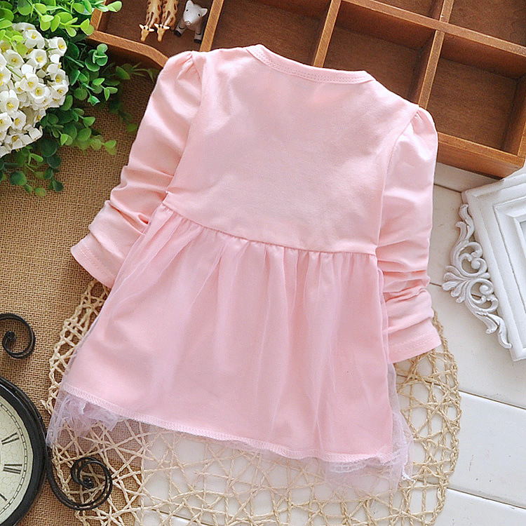 Free-shipping-2017-childrens-clothing-spring-autumn-child-casual-sweet-t-shirt-baby-girls-lace-Bow-cute-princess-t-shirt-1