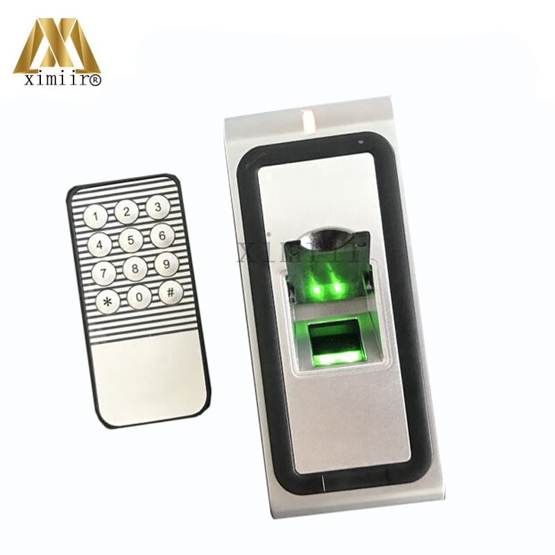 USB Fingerprint Access Control System With RFID Card Reader Metal Standalone Door Controller IP65 Waterproof Fingerprint Reader f3 finger pin free shipping fingerprint access control reader with keypad waterproof structure design ip65 waterproof