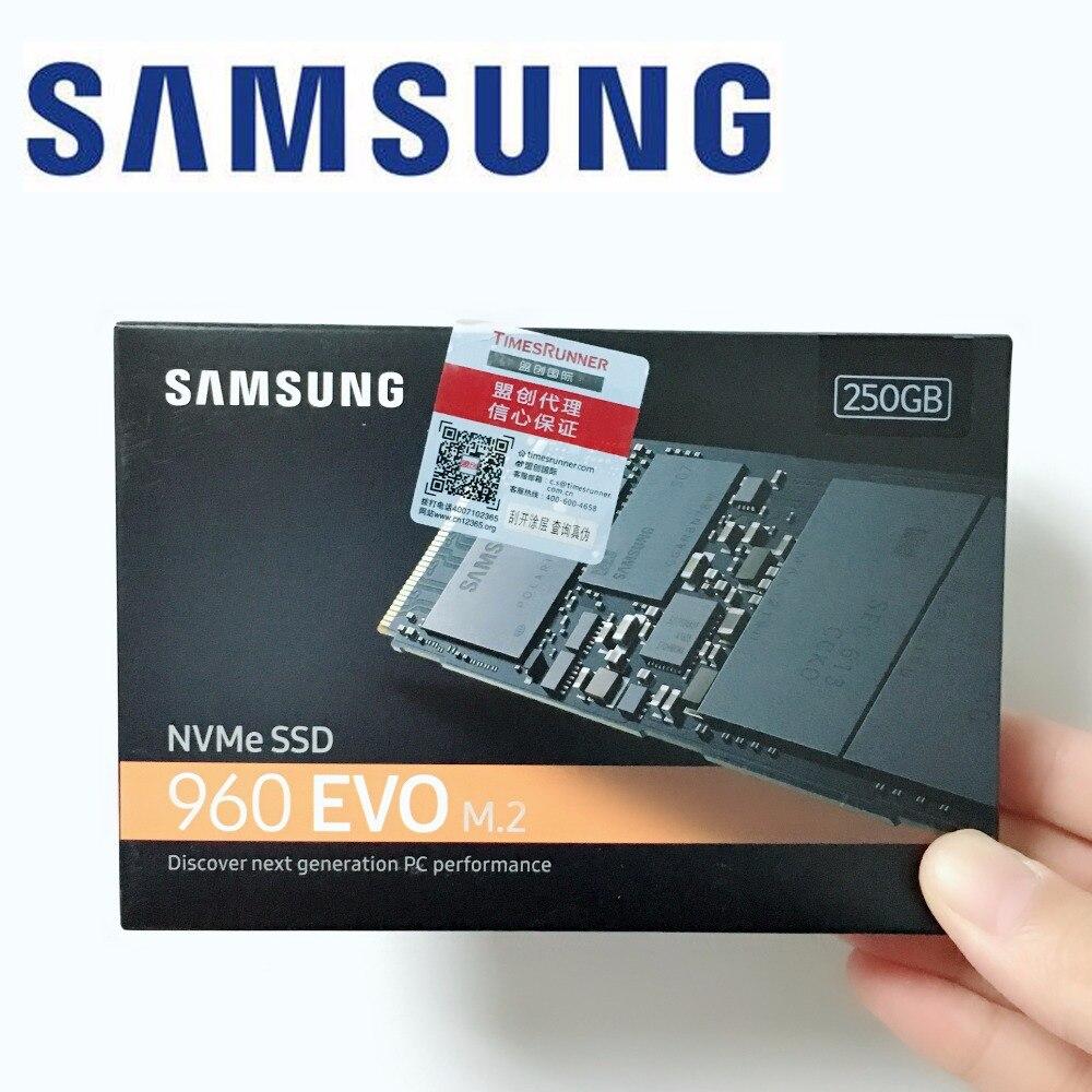 SAMSUNG PC 960 EVO 250GB 500GB 1TB NVMe M.2 SSD PCIe 3.0 x4, MZ-V6E 250 500 1TB 960EVO 250G 500G 1TB SSD colorful 1tb