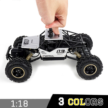 RC Car 2.4G 4CH 4WD Rock Crawlers 4×4 Driving Car Double Motors Drive Bigfoot Car Remote Control Car Model Off-Road Vehicle Toy