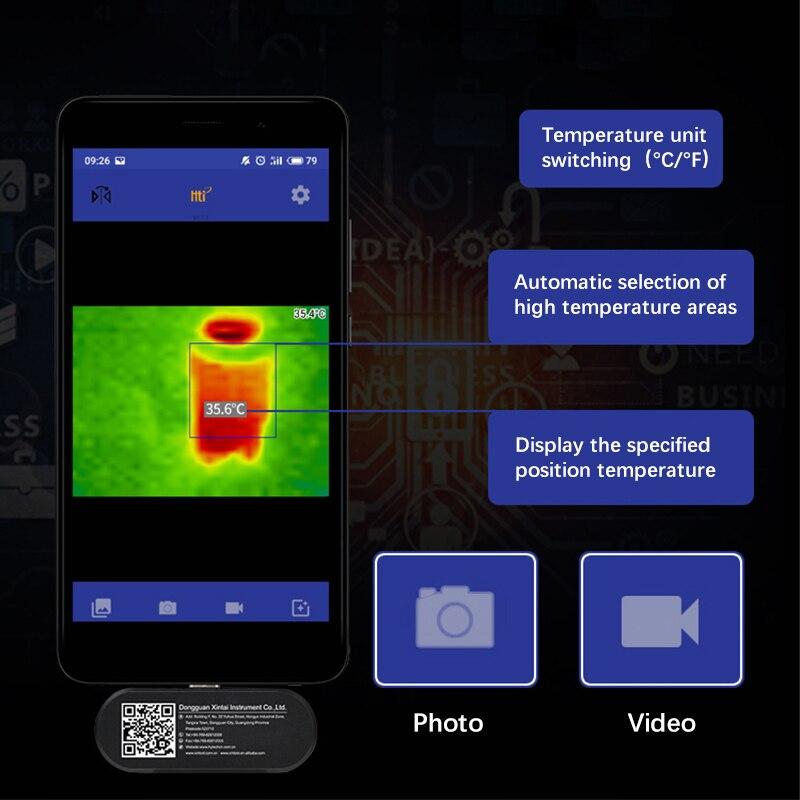 Nouvelle caméra d'imagerie thermique imageur infrarouge vision nocturne FLIR ONE PRO Gen 3 utilisation pour iphone ipad iOS ou Android ou livraison directe de type c - 6