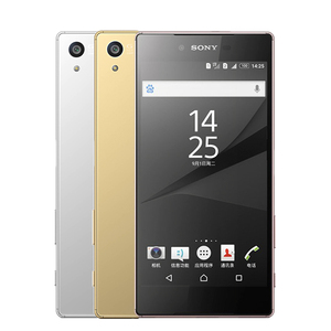 Image 5 - Desbloqueado sony z5 premium octa núcleo 23.0mp câmera do telefone móvel 5.5 ips ips ips único/duplo sim android 4g FDD LTE 3430mah impressão digital