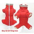 Великолепная Одежда для собак KEK  Зимний водонепроницаемый теплый пуховик для собак  светоотражающая Одежда для мальчиков и девочек  комбин...
