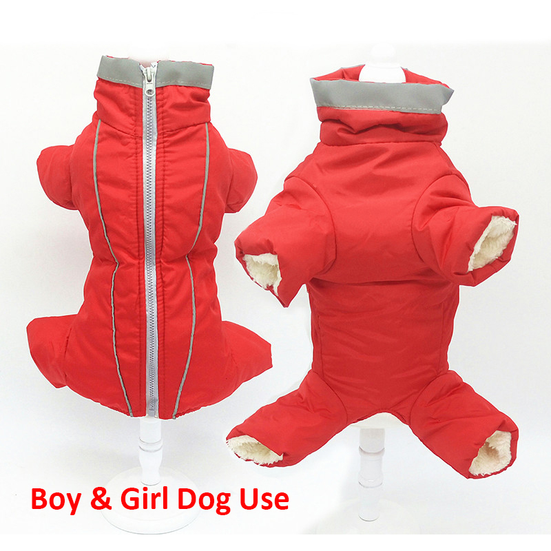 Glorious Kek Dog Clothes Winter Waterproof Warm Dog Down Jacket Reflective Boy/girl Dog Clothes Jumpsuit For Small Pet Chihuahua