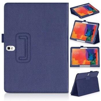 מגנטי Funda עבור Samsung Galaxy Tab Pro/הערה 2014 10.1 SM-T520/T521/T525 SM-P600/P605/ p601 N8000 N8010 N8020 Stand כיסוי מקרה