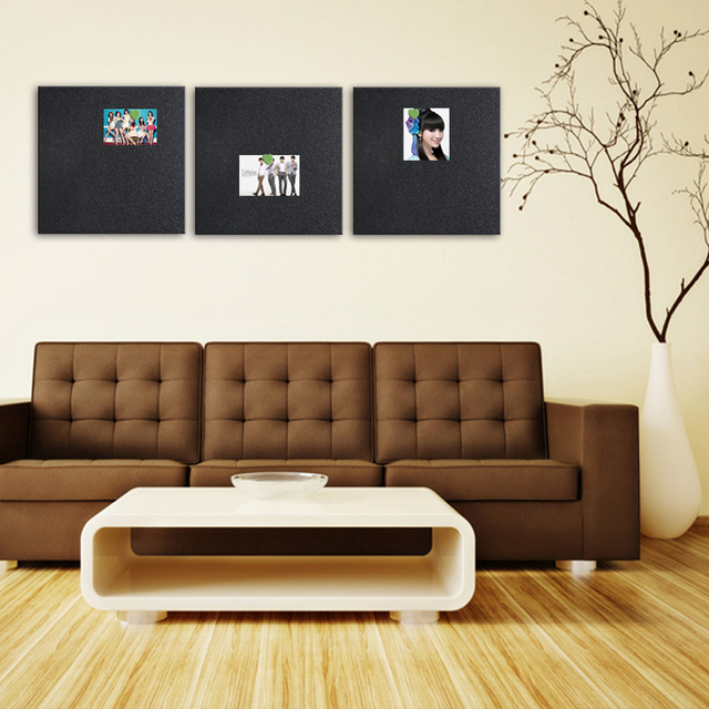 Color Cork Sheet Board Custom Message Bulletin Pushpin Photo Wall