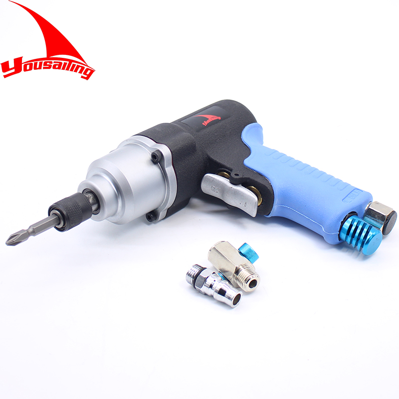 YOUSAILING Quality Pistol Type Pneumatic Screwdriver Air Screw Driver Tools