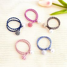 1PC Cute Hair Accessories Pearl Elastic Rubber Bands Ring Headwear Girl Elastic Hair Band Ponytail Holder Hair Styling Tools