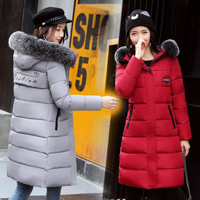 De black Manteau gray Taille Casacos Genou Épaississement Green 2018 Le Femmes army Inverno Coupe Sur Red Conception orange Chaud Mode D'hiver vent Longue Feminino HIqdRw