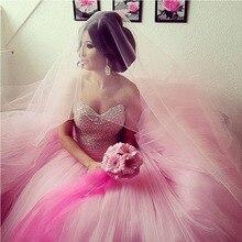 Sparkly Puffy Bonbon 16 Sechzehn Quinceanera Kleider Masquerade Ballkleider Liebsten Perlen Designe Ballkleider Kleid für 15 jahre