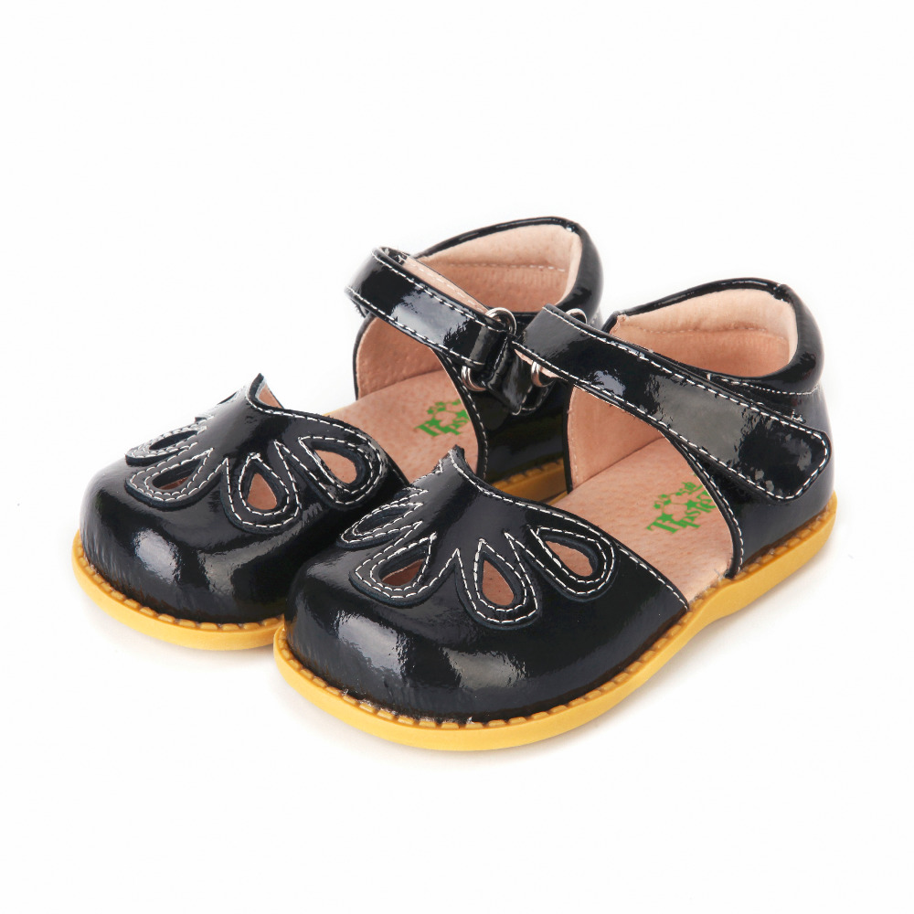 TipsieToes Top Brand Petal 100% Soft Leather In Summer New Boys And Girls Children Beach Shoes Kids Sport Sandals Sandalias