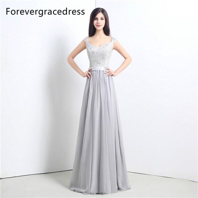 Forevergracedress Hohe Qualität Billige Silber Brautjungfer Kleid ...