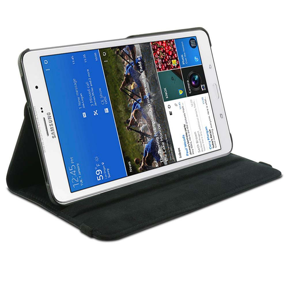 360 Rotating SM T320 T321 T325 book cover case-Smart Leather Case Cover For samsung galaxy tab Pro 8.4 (Wake & Sleep Function) image