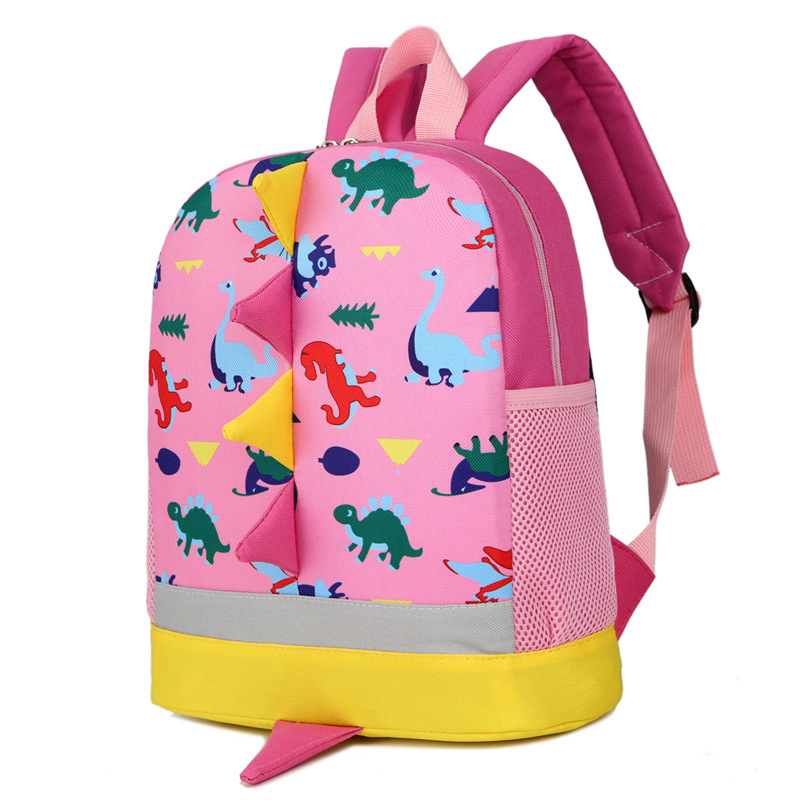 2017 New Cartoon dinosaur printing small cute school Backpack Kindergarten Bags for 1-3-5 Years Old Girls Boys School Bags цены онлайн