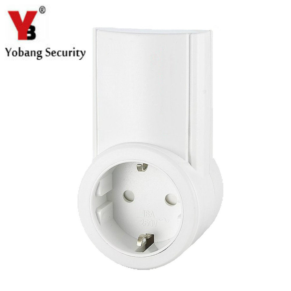 YobangSecurity Android IOS APP Remote Smart Wireless RF Socket EU AU US UK Adapter Switch Plug