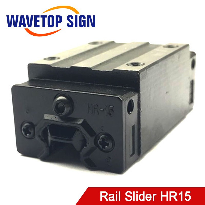 цены rail slider HR15 use for engraving machine parts can instead HIWIN slider HGH15CA linear guide for linear rail CNC diy parts