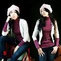 NOVA da Menina das Mulheres Beret Trançado Baggy Beanie Crochet Inverno Quente Hat Cap Ski Malha De Lã de Varejo/Atacado 598N 6R33
