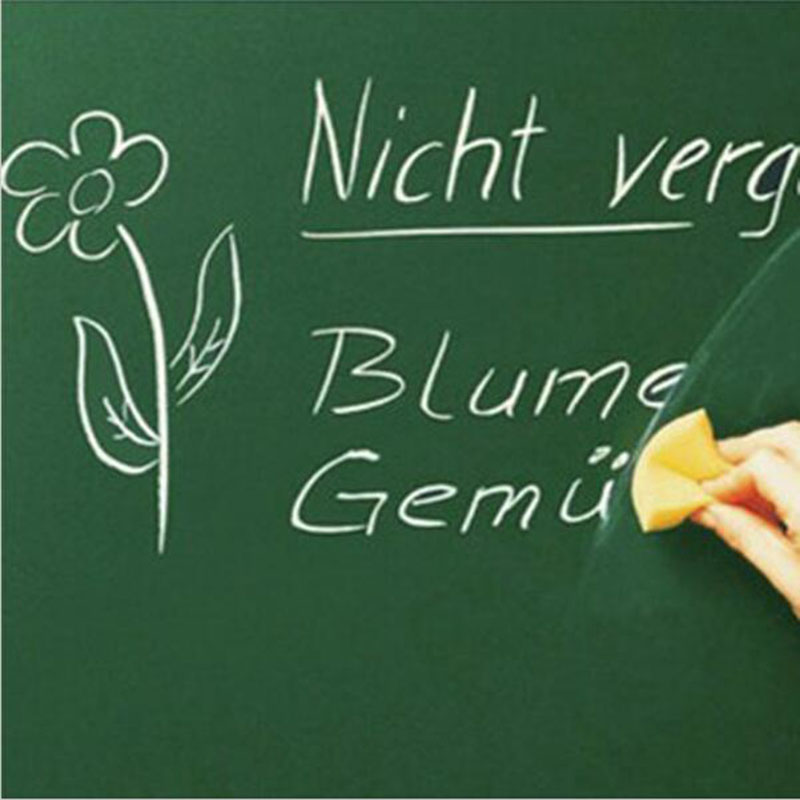 Creative Home Decoration Wall Stickers Green Board Children Teaching 45x100 Cm Green