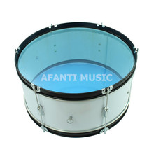 24 inch White Transparent Afanti Music Bass Drum BAS 132