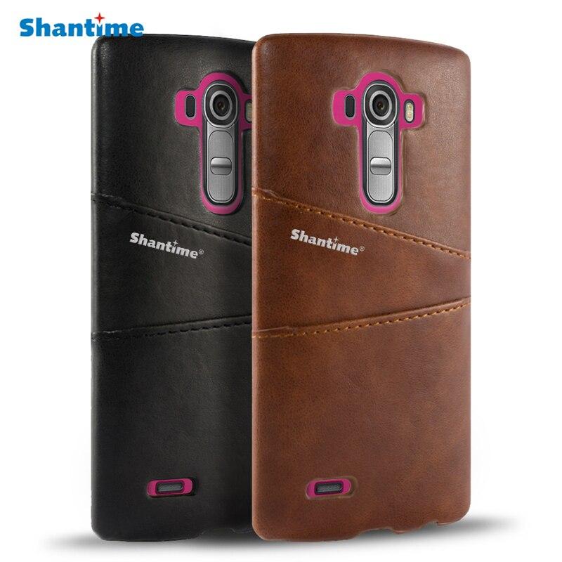 Обложка на заднюю панель из искусственной кожи для LG G3 G4 G3 Beat G4 Beat, чехол бумажник для LG G4 Note, отделение для визитных карточек, чехол для телефона|Чехлы-портмоне|   | АлиЭкспресс