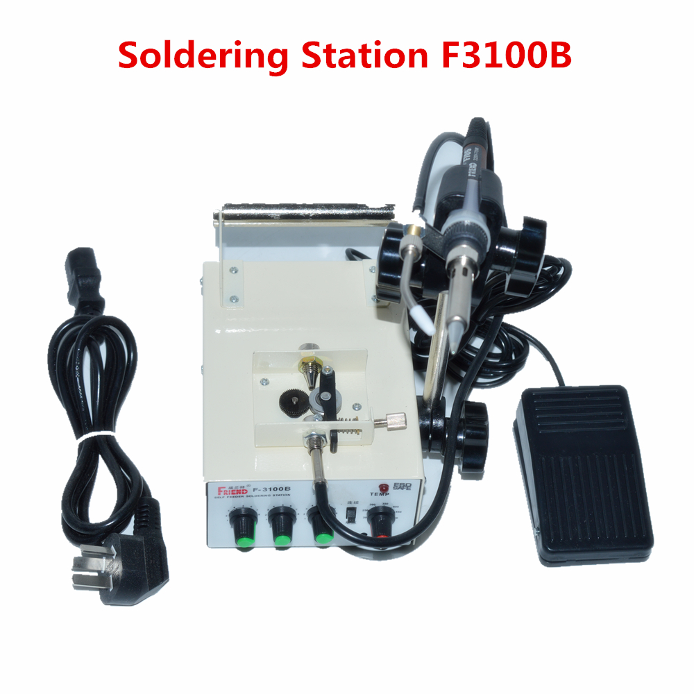Automatic Tin Feeding Machine Constant Temperature Soldering Iron Teclast Multi-function Foot Soldering Machine F3100B