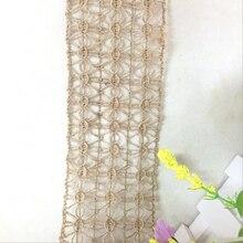 Tassel-Rope for 5-Meters Long Lowest-Price Weaved Eco-Friendly Fancy 6cm 100%Jute