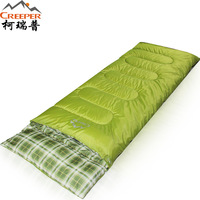 Four Seasons Outdoor Sleeping Bag Thermal Autumn Winter Envelope Hooded Travel Camping Water Resistant Sleeping Bag