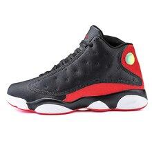 wholesale dealer 6b978 6cab1 Jordan 13 cuero retro zapatos para hombre de baloncesto al aire libre  tamaño grande antideslizante de